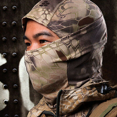 Cool Camouflage Army Cycling Motorcycle Cap Balaclava Hats Full Face Mask BW
