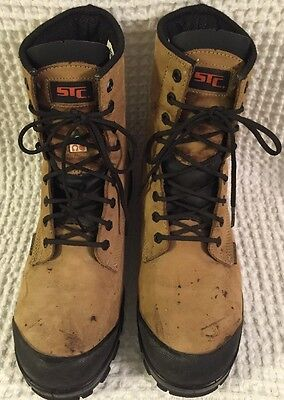STC Work Boots 21987 Acrobat Steel Toe Safety Water Resistant Thinsulate ~ US 12
