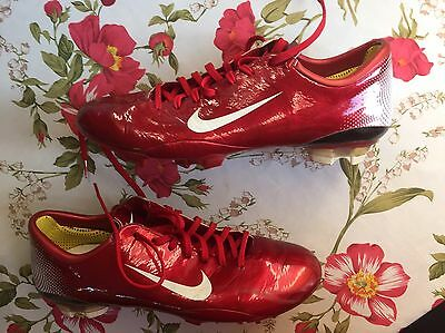 Nike Mercurial Vapor III 3 FG Made In Italy Us12 Uk11 Eur46 Cm30 Superfly Red