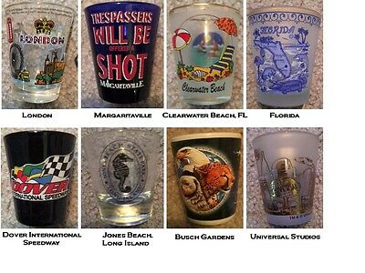 Collectible Shot Glasses