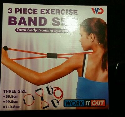 Resistant exercise bands