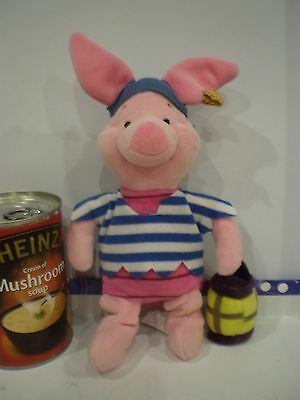 Winnie The Pooh Soft Toy Piglet As A Pirate