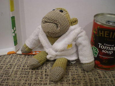 Pg Tips Tea Soft Monkey With A Dressing Gown