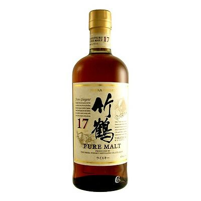 Whisky NIKKA TAKETSURU 17 years 70 CL 43% vol Unopened Blended malt