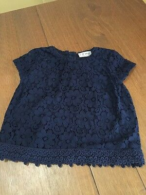 Girls Lace Party Top Next Age 2-3