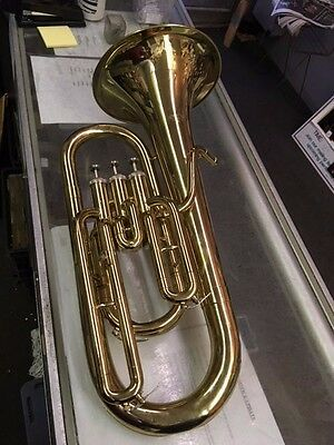Baritone Horn Olds Usa 3/4 Size