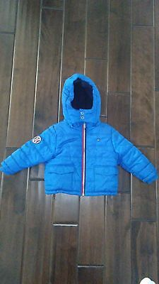 Toddler Tommy Hilfiger Full Zip Hoodie Puffer Jacket Coat 2T