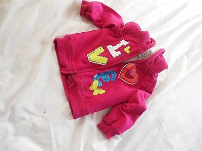 pink hooded jacket bought in new york 2yrs