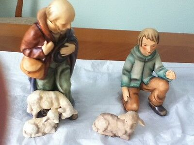 Goebel Hummel 15 PC Nativity Scene Figurines