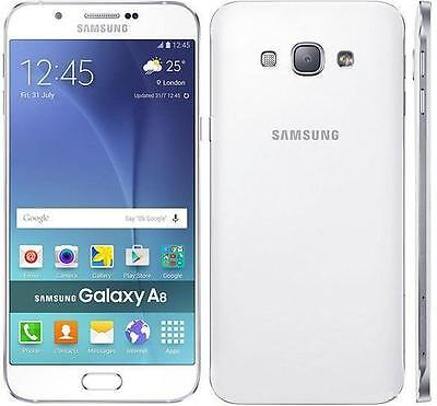 New Samsung Galaxy A8 Camera Mobile Phone Progs