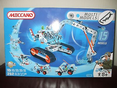 Meccano Set For Ages 8+Yrs Model No 6515