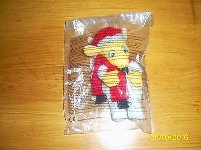 Mcdonalds Happy Meal Soft Toy From Wombles - Orinoco (Red Scarf & Hat)