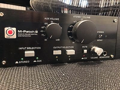 SM Pro Audio M-Patch 2 passive stereo monitor controller