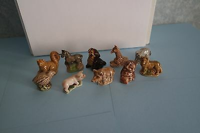 wade whimsies x 10 in very good condition