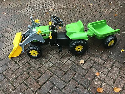 Childs Rolly ride on tractor