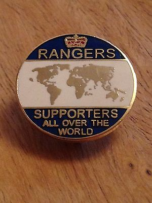 Rangers Supporters All Over The World. Glasgow Rangers Fc Fans Enamel Pin Badge