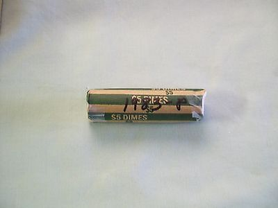 1983-P Roosevelt Dime Roll (Circulated Condition)