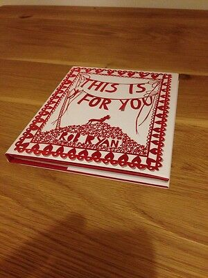Rob Ryan Signed Book This Is For You