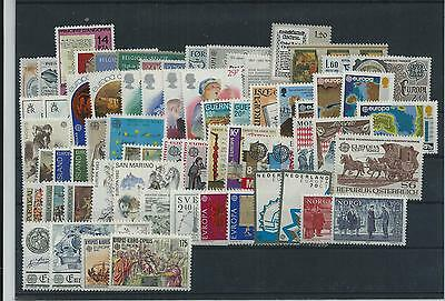 Europa 1982 Year Sets Pristne  Mnh 66 Vals