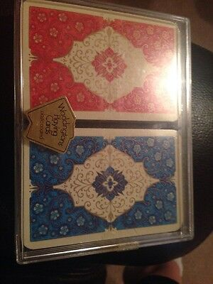 Vintage Waddingtons Double Deck Playing Cards boxed/unused