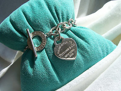 "Tiffany & Co. ""return To Tiffany & Co."" Heart Toggle Bracelet!!!"
