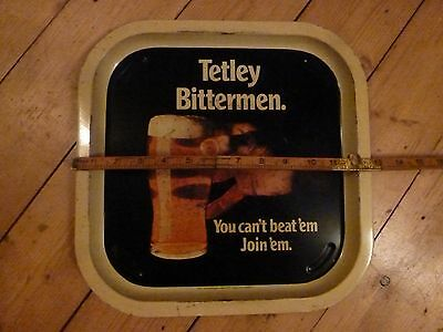 Vintage iconic advertising beer bar pub tray ale man cave