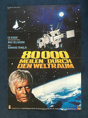 Ultra Rare German Gerry Anderson Ufo 1970's Poster 4