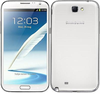 New Samsung Galaxy Note 2 Ii N7100 Camera Mobile Phone Progs