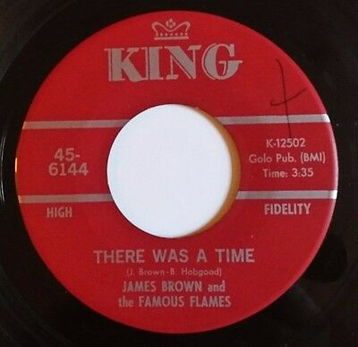 "James Brown - There Was A Time / Cant' Stand Myself 1968 US Vinyl 7"" single EX"
