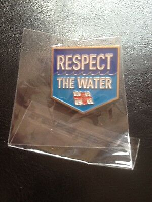 RNLI Respect The Water Pin Badge