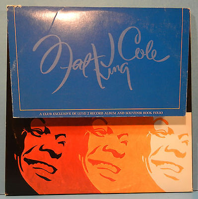 Nat King Cole The Man And His Music 2X Lp 1969 Booklet Great Cond! Nm/vg+!!