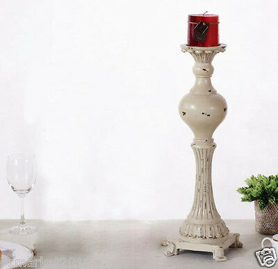 European Style White L13*W13*H31CM Resin Candlestick Holder/Candlestick
