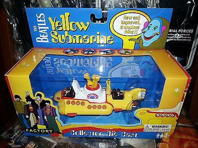 The Beatles Yellow Submarine collector die-cast NEW