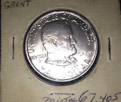 1922 50C Ulysses S. Grant Commemorative Half Dollar Coin Very Low Mintage!