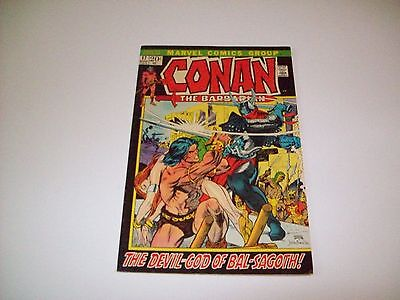 Conan 17 NM- 9.2 classic Barry Windsor Smith art Black cover