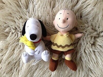 Peanuts Soft Toys - Snoopy and Charlie Brown