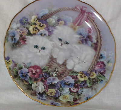 Kiitty Cat Collelctible Plate