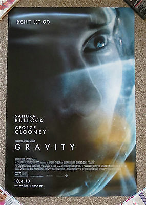 Set of 3 Original U.S One Sheets for 'Gravity'. All Double Sided and VGC
