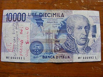 1 x ITALY 10000 LIRE BANK NOTE