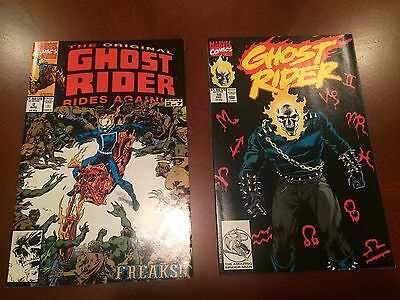 The Original Ghost Rider Rides Again #2 & Ghost Rider #10 Comic Books