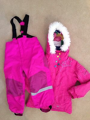 Girls Ski Jacket And Trouser Suit Age 5