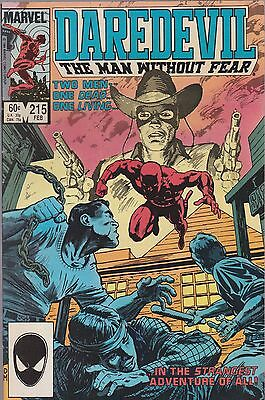 Daredevil, Man Without Fear  #215 Marvel 1985