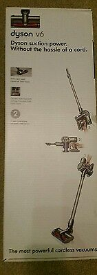 Dyson v6 box and new attachements extra accessories