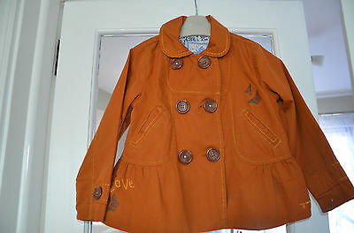 GIRLS NEXT JACKET/COAT age 4-5 years, NEXT SPICE BAZAAR BUTTERFLY RANGE JACKET