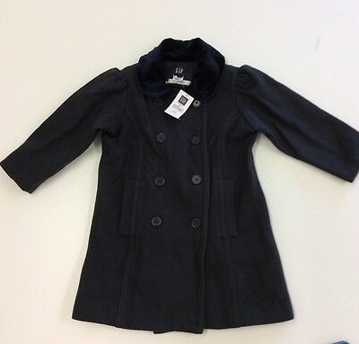 Girls Traditional Wool coat Age 3