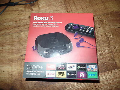 Roku 3 Media Streamer 4200eu Digital HD 720p/1080p