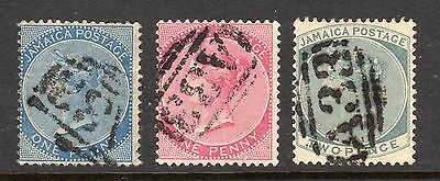 Jamaica Watermark CA A33 Chapelton Cancel 3 Different a887
