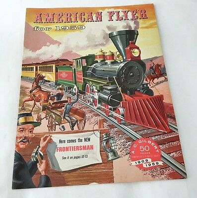 American Flyer Trains S Gauge Catalog #D.2115 from 1959 New Old Stock