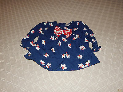 Baby Girls Top And Trouser Set - Size 0/3 Months