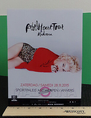 Madonna / Rebel Heart Tour Ad / Glossy Slick / Counter Top Standee Promo #5